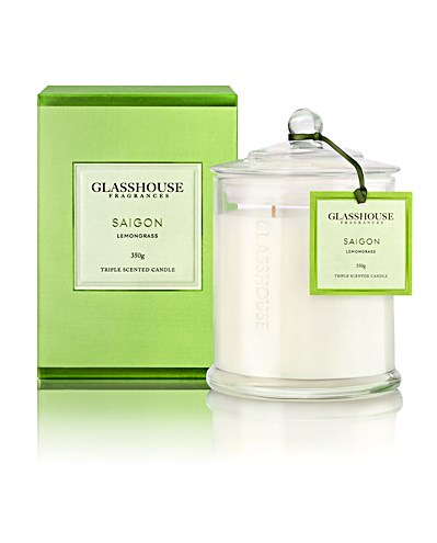Glasshouse Saigon Large Triple Scented Candle