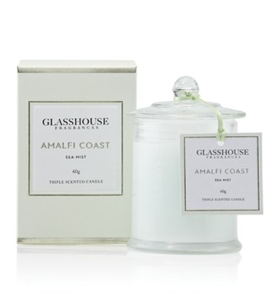 Glasshouse Amalfi Coast Miniature Triple Scented Candle