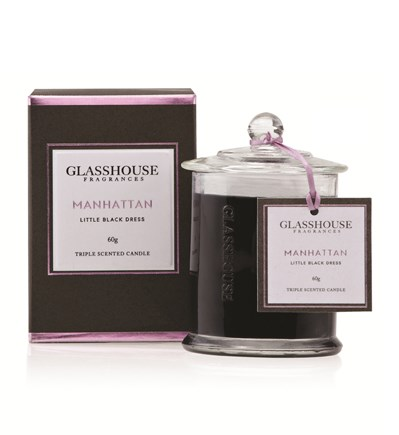 Glasshouse Manhattan Miniature Triple Scented Candle