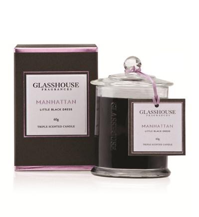 Glasshouse Manhattan Miniature Triple Scented Candle