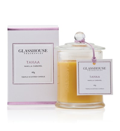 Glasshouse Tahaa Miniature Triple Scented Candle