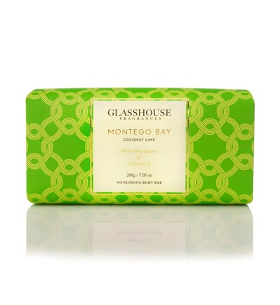 Glasshouse Montego Bay 200G Nourishing Body Bar