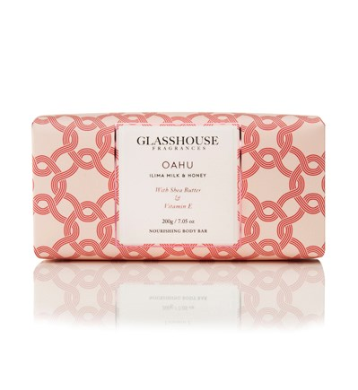 Glasshouse Oahu 200G Nourishing Body Bar