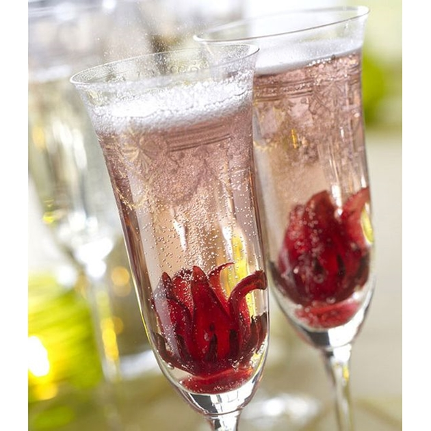 Easy Entertaining Wild Hibiscus Champagne Buds - na