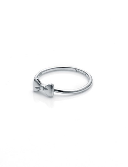 Stolen Girlfriends Club Essential Metal Baby Bow Ring