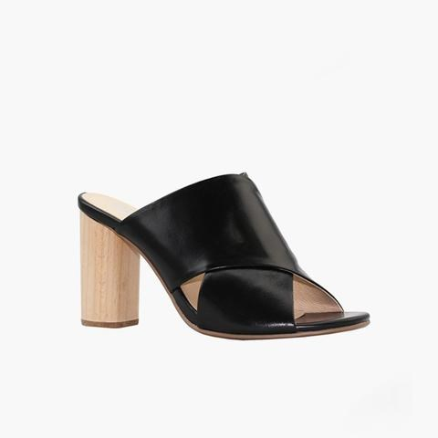 Miss Wilson slide with natural heel
