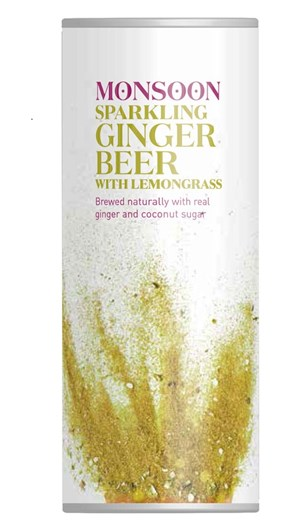 Monsoon Lemongrass Ginger Beer
