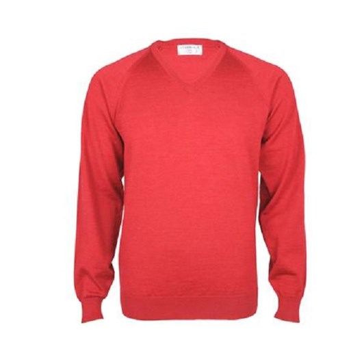 Silverdale Fine Vee Neck Pullover-Classic Fit