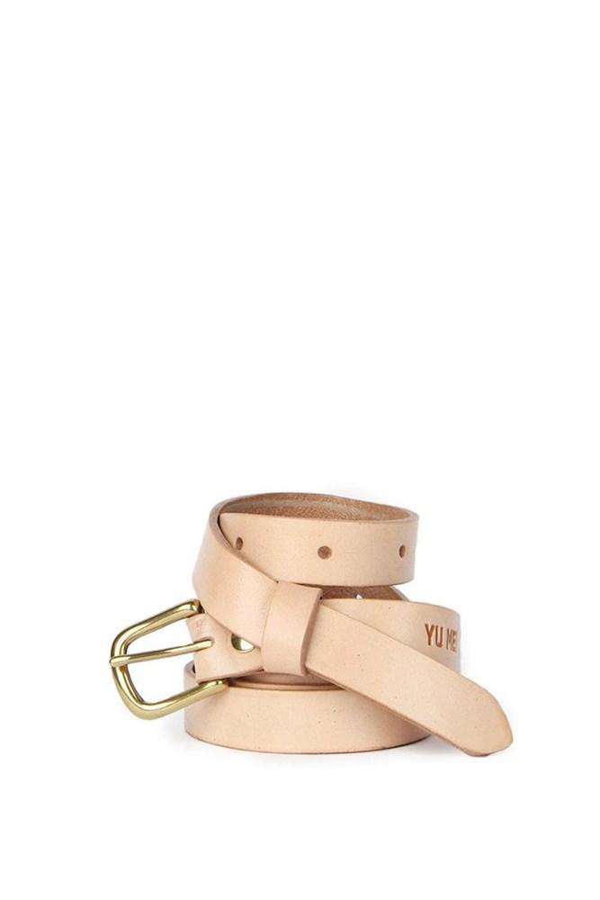 Yu Mei 1/1 Strap Belt Tan