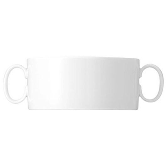 Thomas Medallion Cream Soup Cup - White