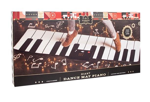Fao Schwarz Toy Piano Dance Mat 69X31