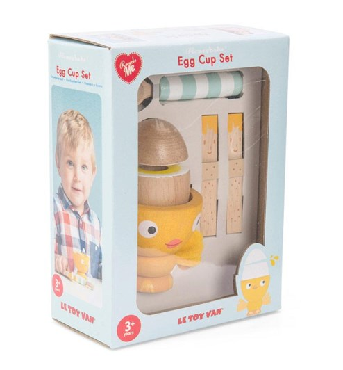 "Le Toy Van Egg Cup Set ""Chicky Chick"""