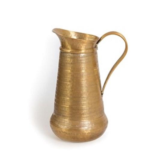 Nadee Vase Pitcher Brass Mtl 29Cm