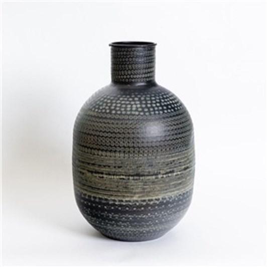 Nadee Vase Blk Tall 24X40.6Cm